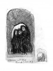 women at tombsketch2